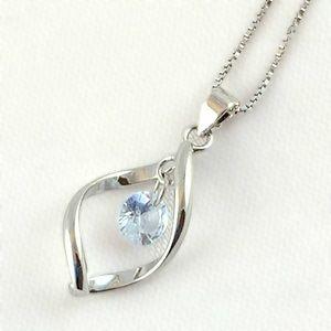 Pretty Cubic Zirconia Necklace